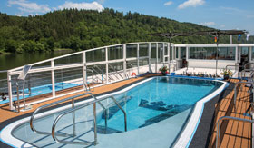 Sun Deck aboard AmaMora