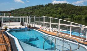 Sun Deck Pool on AmaSiena