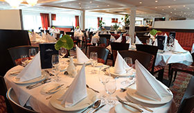 Main Restaurant aboard AmaWaterways