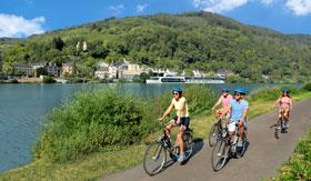 Bicycling through Europe