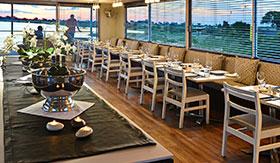 Dining Room aboard Zambezi Queen