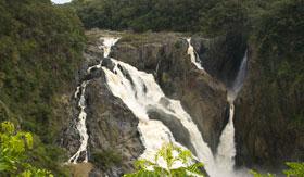 Baron Falls outside Cairns, Australia
