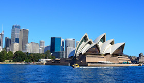 Australia Cruisetours, The city skyline of Sydney, Australia