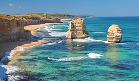 Twelve Apostles Rock Formation in Australia