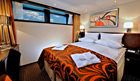 Avalon Visionary deluxe stateroom