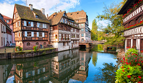 Avalon Waterways half timbered homes Strasbourg France
