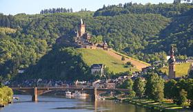 Avalon Waterways river coast of Cochem Germany