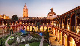 Avalon Waterways Santo Domingo monastery Lima Peru