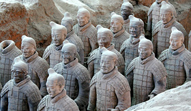 Avalon Waterways Terracotta Warriors Xian China