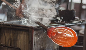 Glassblowing Demonstration in Alaska