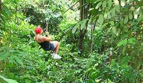 Azamara Club Cruises - Jungle Zipline Tour