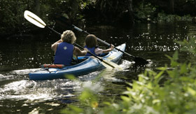 Kayak in the Goregeous Nahoon River