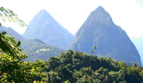 Azamara Club Cruises - Pitons of St. Lucia