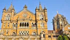 Azamara Club Cruises Victoria Terminus Train Station Mumbai India