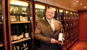 Azamara dining Wine Cellar