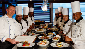 Azamara onboard Culinary classes demonstrations