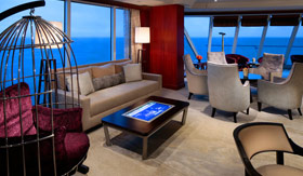 Azamara Pursuit – Living Room