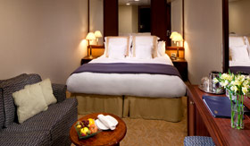 Azamara staterooms Club Interior stateroom