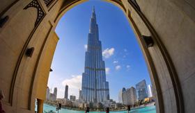 Burd Khalifa in Dubai, UAE