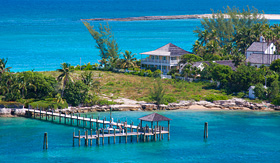 Carnival Cruise Lines beautiful piece of property in Nassau Bahamas
