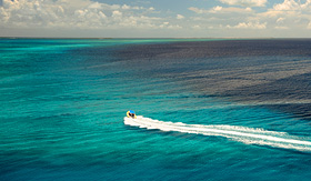 Carnival Cruise Lines deep sea fishing off the coast of Grand Turk