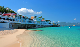 Carnival Cruise Lines Doctors Cave bathing club Montego Bay Jamacia