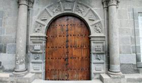 Las Palmas Old Quarter Wooden Door
