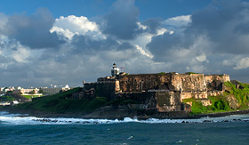 Carnival Cruise Lines old San Juan fort