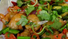 Carnival dining Ji Ji Asian Kitchen