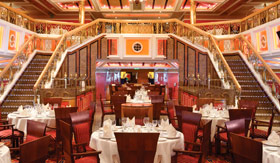 Carnival dining Main Dining Room
