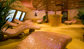 Carnival Cloud 9 Spa Thalassotherapy Room
