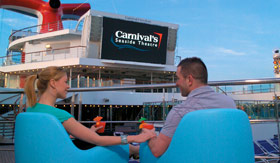 Carnival entertainment Carnivals Seaside Theater