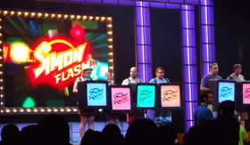 Carnival entertainment Hasbro game shows