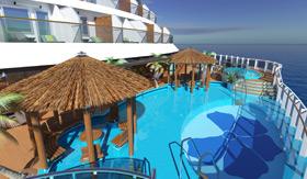 Carnival Horizon - Havana Pool