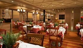 Carnival Cucina del Capitano Restaurant