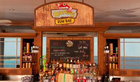 Carnival onboard activities Red Frog rum bar