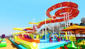 WaterWorks Aqua Park aboard Carnival Panorama