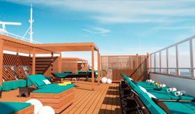 Serenity Retreat aboard Carnival Radiance