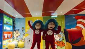 Seuss at Sea aboard Carnival Radiance