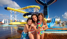 Carnival Sunshine WaterWorks waterpark