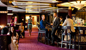 Celebity onboard activities Ensemble Lounge
