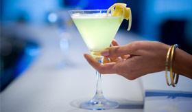 Celebity onboard activities Passport Bar