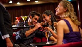 Celebity onboard activities Rendezvous Lounge