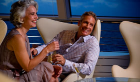 Celebity onboard activities Sky Observation Lounge