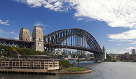 Celebrity Cruises Sydney harbour bridge Australia