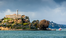 Celebrity Cruises Alcatraz Island in San Francisco