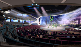 Theatre Concept for Celebrity Apex