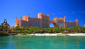 Celebrity Cruises Atlantis hotel on Paradise Island Nassau Bahamas