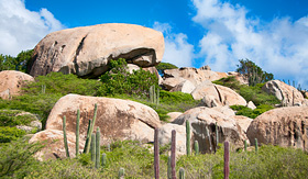 Celebrity Cruises Ayo rock formation in Aruba