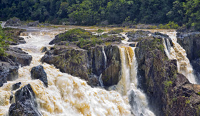 Celebrity Cruises Barron Falls in Queensland Australia